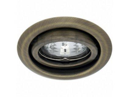 Bodové svietidlo okrúhle výklopné matná mosadz ARGUS CT-2115-BR/M 00330