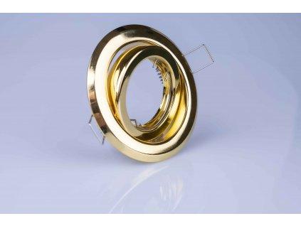 Bodové svietidlo okrúhle výklopné zlaté ARGUS CT-2115-G 00304