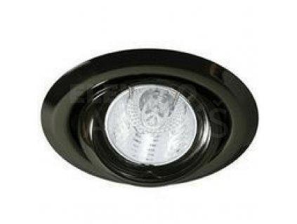 Bodové svietidlo okrúhle výklopné čierny chróm ARGUS CT-2117-GM 00340