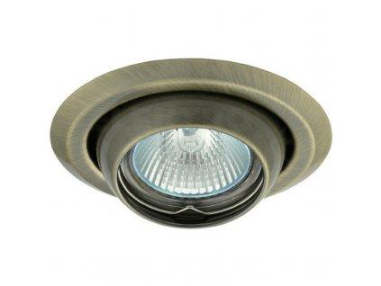 Bodové svietidlo okrúhle výklopné matná mosadz ARGUS CT-2117-BR/M 00336