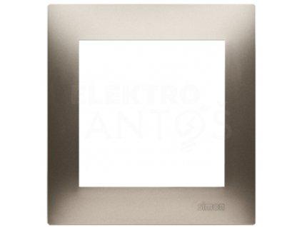 1-rámček Simon54 PREMIUM zlatý matný DR1/44