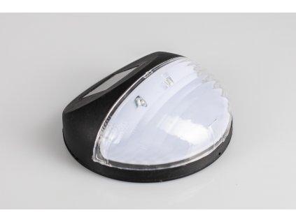 Solárne svietidlo kameň - čierne