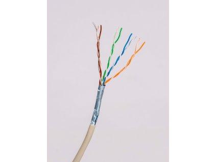 Kábel FTP 4x2x0,51 CAT.5e tienený