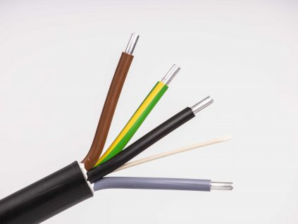 Hliníkový kábel do zeme na prípojky ayky 4x25