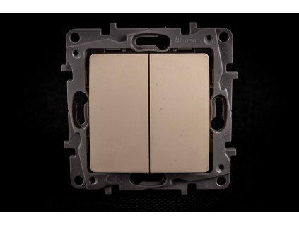 Vypínač č.5B NILOE béžový 764602 Legrand