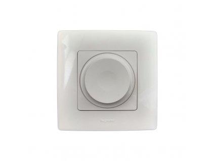 Otočný LED stmievač NILOE, biela 7 645 88 Legrand