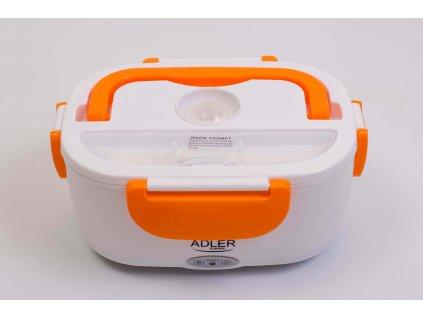 Vyhrievací elektrický obedár oranžový ohrievací box 230V AD4474