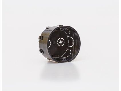 Krabica pod omietku ø72x42mm prístrojová nadpájateľná 6400-301