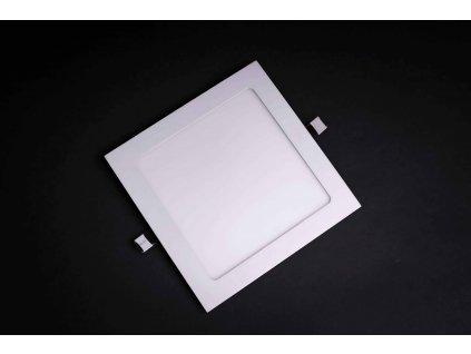 LED panel štvorcový zapustený 15W 4000K biely L243634
