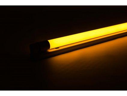 Oranžová trubica LED 20W 120cm obojstranné napájanie AN25