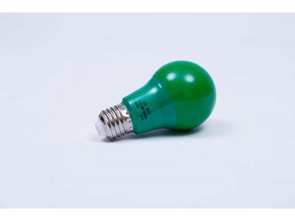 Zelená LED žiarovka 7W E27 6500K AN95 Fomsi