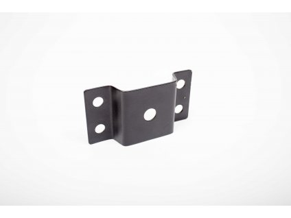 Úchyt na oceľový stĺp/rúru ø40-50mm (protikus k výložníkom PL3016 a PL1619) čierny PL3362