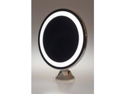 Podsvietené zrkadlo ø20cm okrúhle s prísavkou na baterky AD2168 ADLER