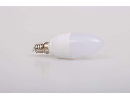 LED žiarovka sviečka 5W E14 4500K KM