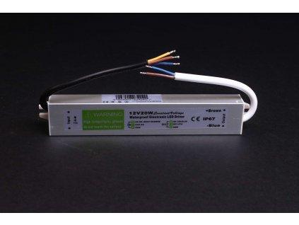 Napájací LED zdroj 12V 100W IP67 3589