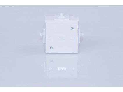 Krabica biela rozvodná 6456-13 4P 70x40mm IP43 acedur