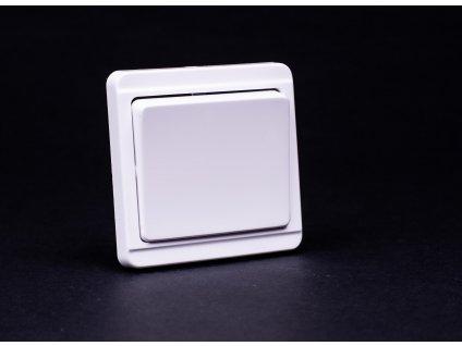 Vypínač č.7 Štandard biely 4FN57507.2101 Tesla