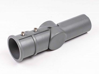 Nastaviteľná redukcia 130° na výložník 60/60mm AAS03