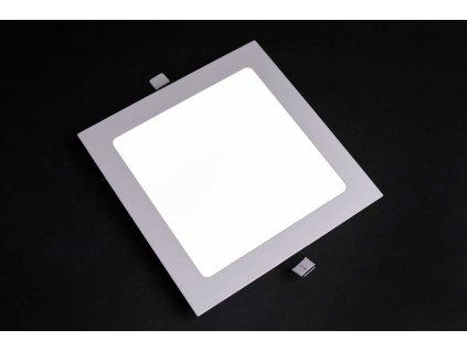 LED panel štvorcový zapustený 24W 6500K biely PROMA 1158