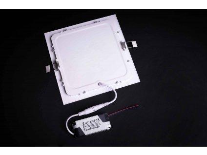 LED panel štvorcový zapustený 24W 6500K biely PROMA 1158 LVT