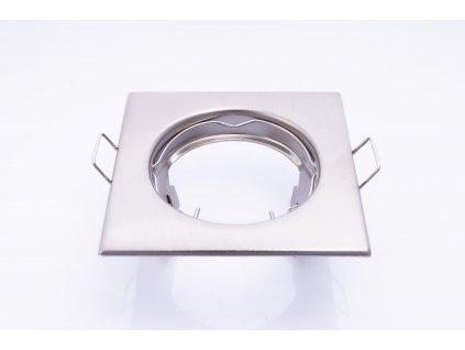 Bodové svietidlo štvorcové pevné matný chróm ALOR DSL-C/M 26729