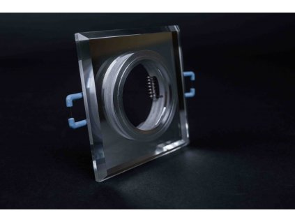 Bodové svietidlo štvorcové zrkadlové sklenené STYX PL1224