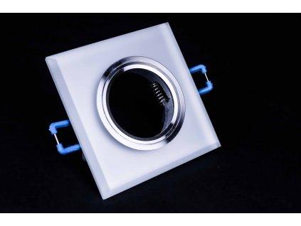 Bodové svietidlo štvorcové mrazené sklo STYX PL1273