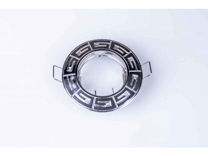 Bodové svietidlo okrúhle pevné chróm RODOS CT-DS09-C 04686