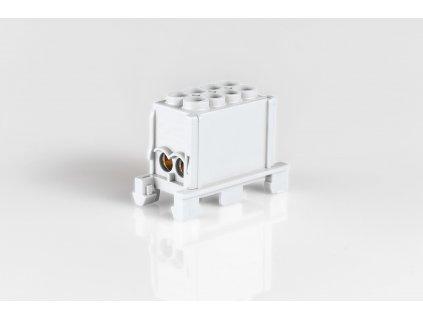 Svorkovnicový blok hlavný 1,5-25mm2 sivý