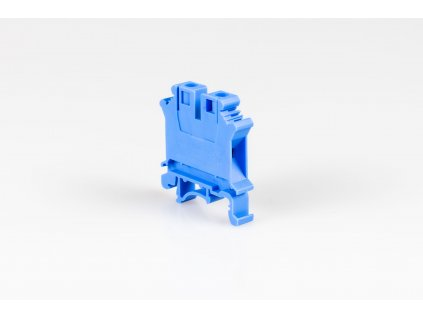 Radová svorka 2,5mm modrá TSKA2,5K