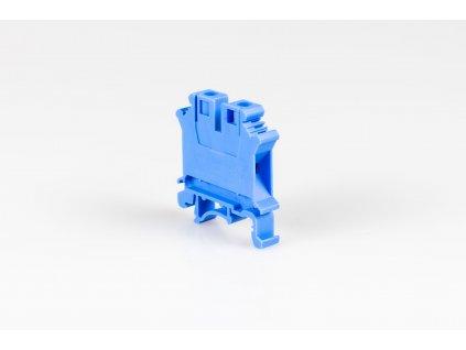 Radová svorka 4mm modrá TSKA4K