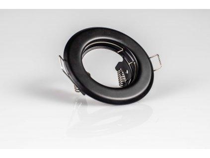Bodové svietidlo okrúhle pevné čierne ALOR DSO-B 26791