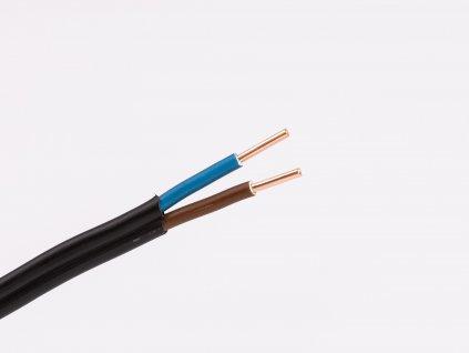 Plochý medený kábel do panelov cykylo-o 2x1,5