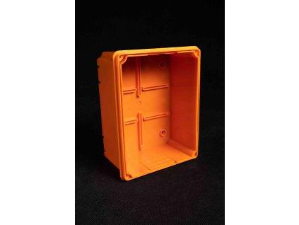 Nastaviteľná krabica 82-150mm pre meraciu svorku bleskozvodov oranžová