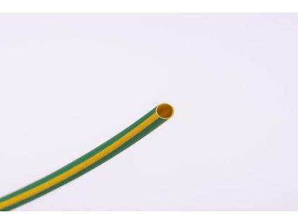 Žltozelená zmršťovacia bužírka 2:1 ø4,8mm->ø,2,4mm 1m ZS048ZS