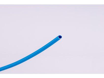 Modrá zmršťovacia bužírka 2:1 ø2,4mm->ø1,2mm 1m ZS024K