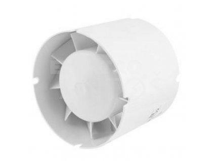 Ventilátor potrubný 107m3/h VENTS 100VKO1LT časový spínač guličkové ložisko