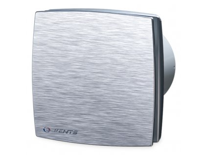 Ventilátor bytový 167m3/h VENTS 125LDAL hliníkový kryt guličkové ložisko