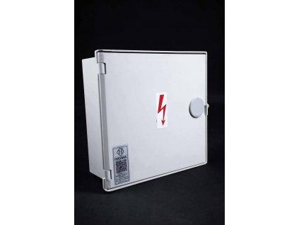 Poistková prípojková skrinka SPP 1/2 E IV P50 Hasma IP44 + kľúč