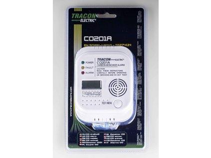 Snímač oxidu uhoľnatého na baterky