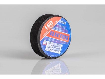 Textilná izolačná páska čierna 19mm x 10m