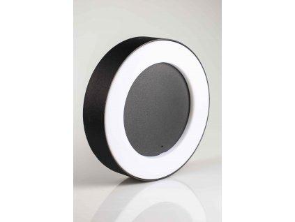 Stropné LED svietidlo okrúhle 12W Stella čierne PL3245