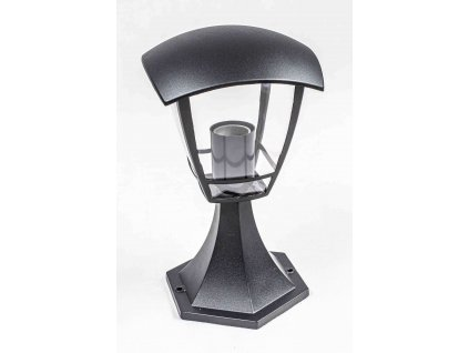 Stojaca záhradná lampa NIKO 30cm 1xE27 čierna IP44 PL5085