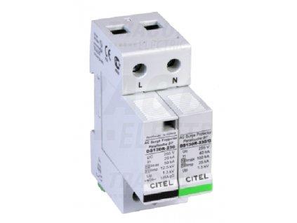 Zvodič prepätia typ 1+2 12,5 kA 1P+NPE Citel
