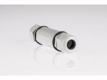Káblová spojka 5x1-2,5mm IP67 SP2,5 sivá