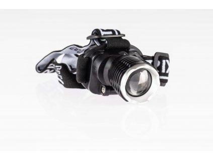 LED čelovka 3W nabíjateľná so zoomom 3 módy TRA217