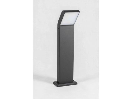 Stojaca záhradná LED lampa CLARK 80cm 12W 4000K čierna IP54 PL3343