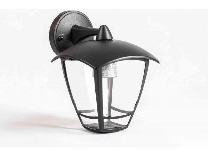 Lucerna záhradná lampa NIKO nadol 30cm 1xE27 čierna IP44 PL5046