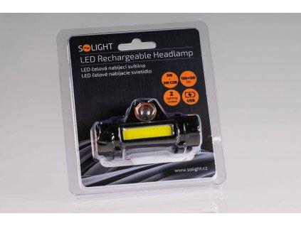 LED čelovka 3+3W 2 módy USB nabíjateľná WN32