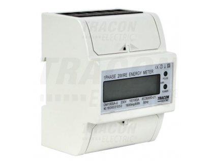 1-fázový digitálny elektromer 100A TVOF14